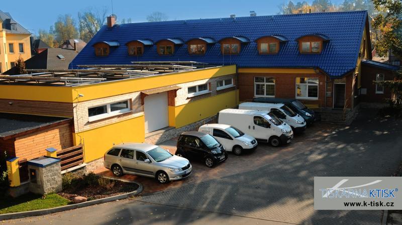 Rok 2012, budova tiskárny po přístavbě tiskové haly